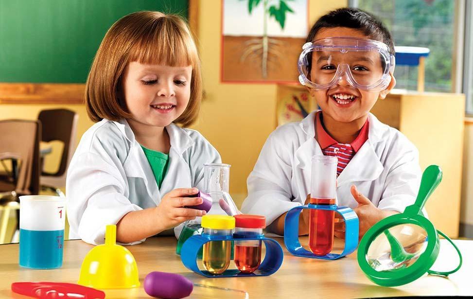 کارگاه رشد کنجکاوی های علمی کودک
