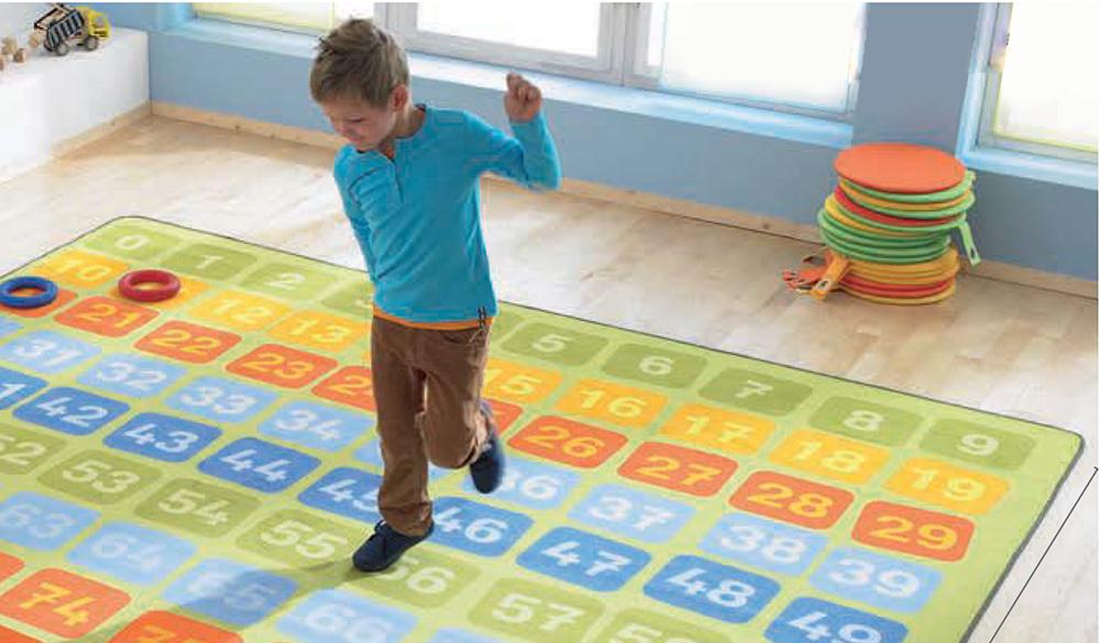فرش جدول ضرب