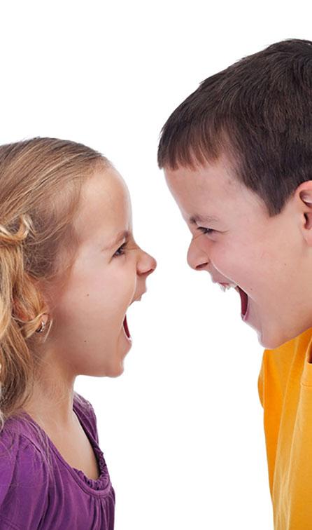 دعوا و درگیری خواهر و برادرها