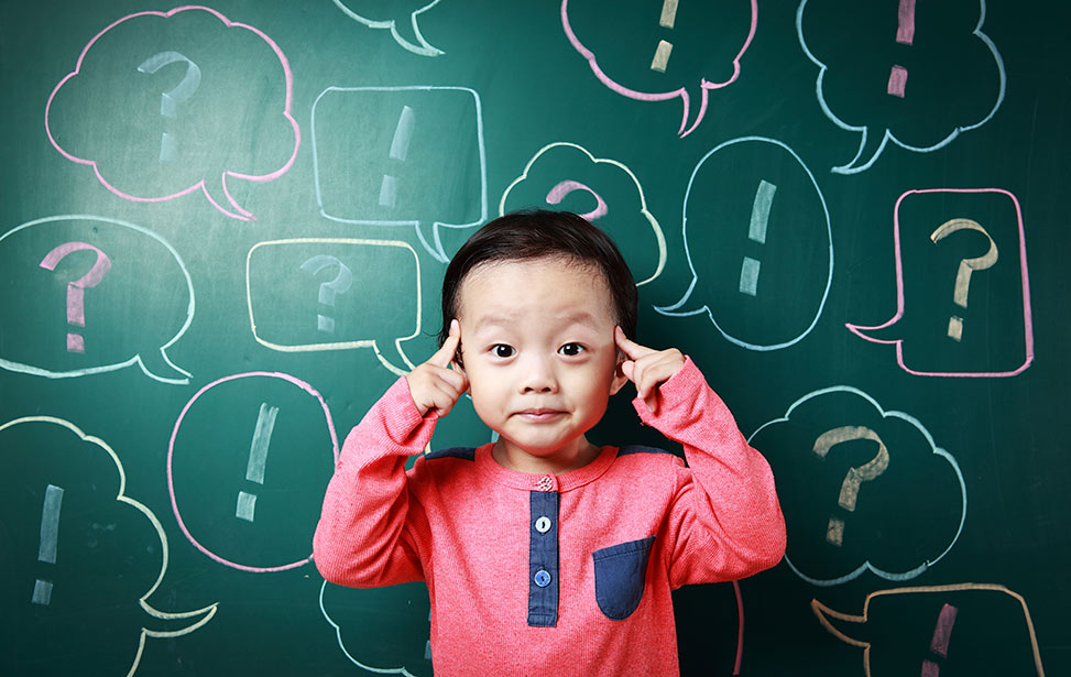 سوالات بی پایان کودک