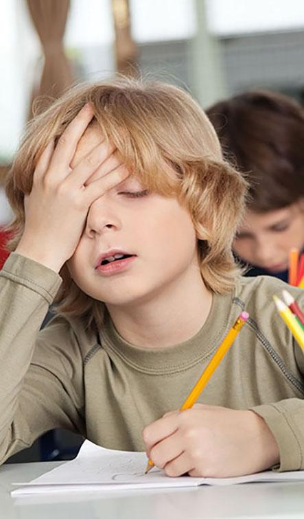 شکایت های شایع کودک از مدرسه