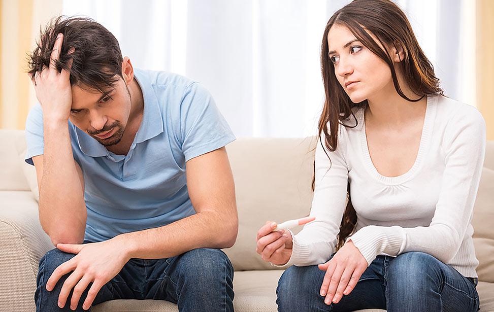 مردان و خبر بارداری