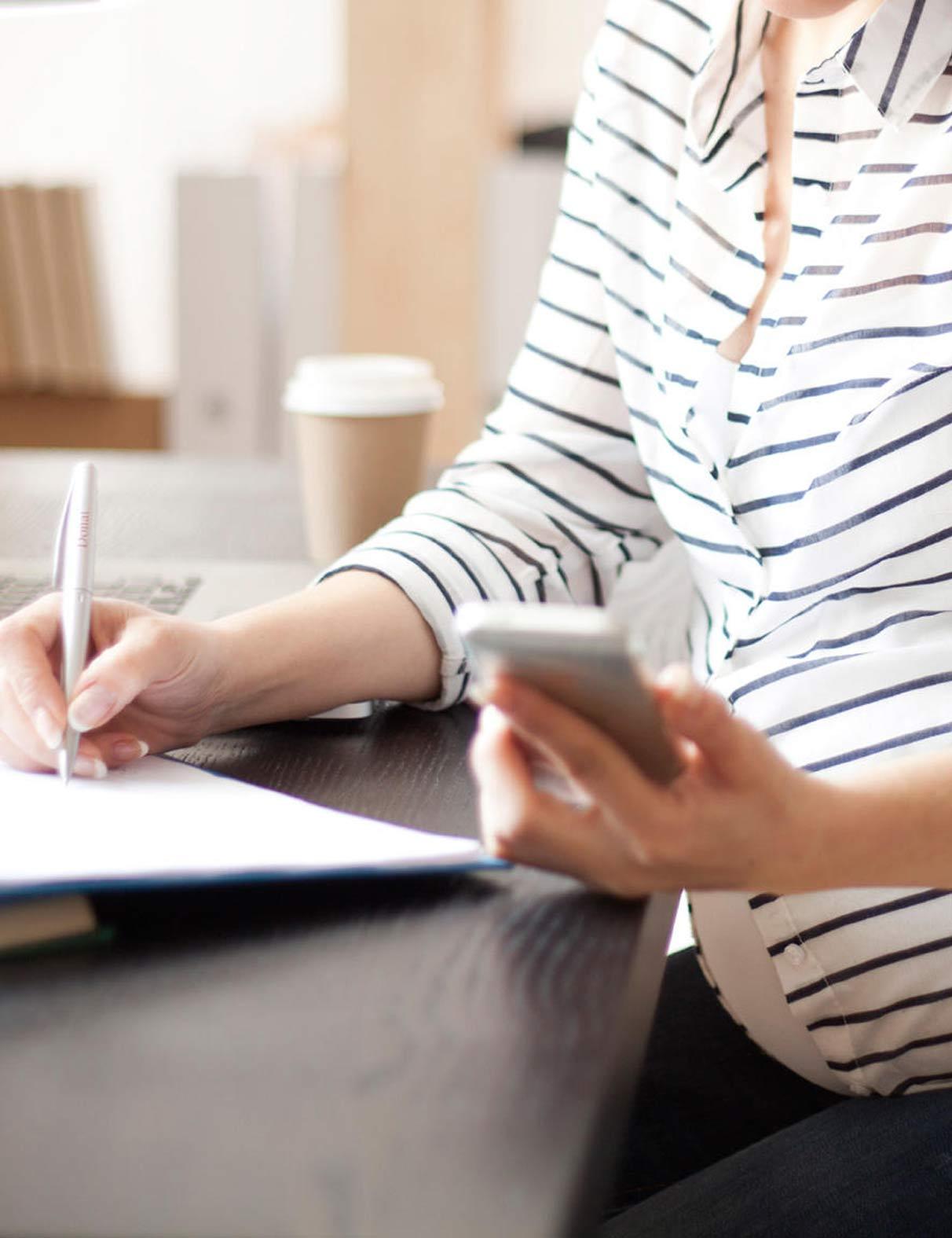 کار در دوران بارداری