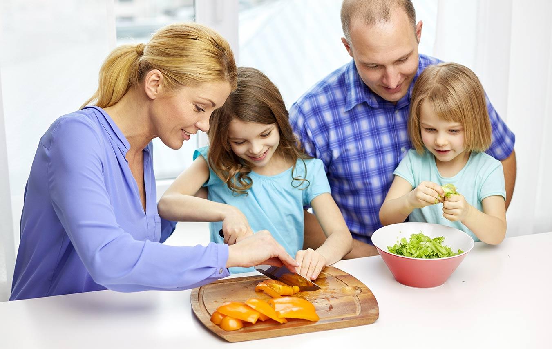 تجربه ای لذت بخش: آشپزی همراه کودک