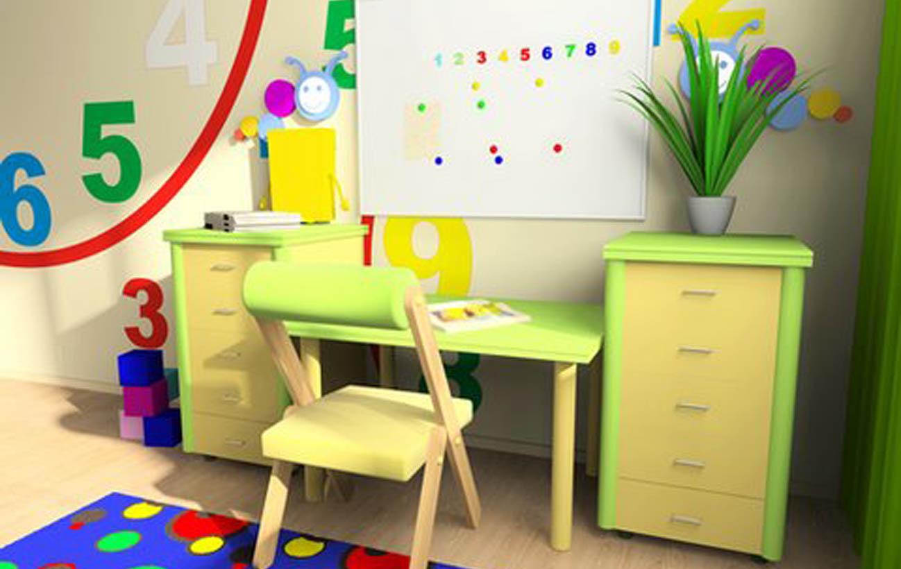 طراحی اتاق کودک نابینا