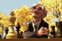 کارتون شطرنج گری