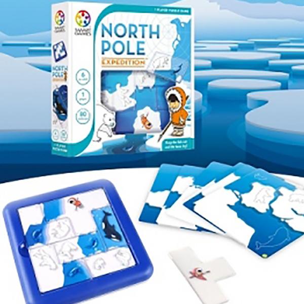 thumb بازی فکری استتار در قطب شمال (NORTH POLE Expedition)
