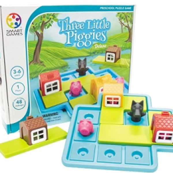 thumb بازی فکری سه بچه خوک کوچولو (Three Little Pigges)