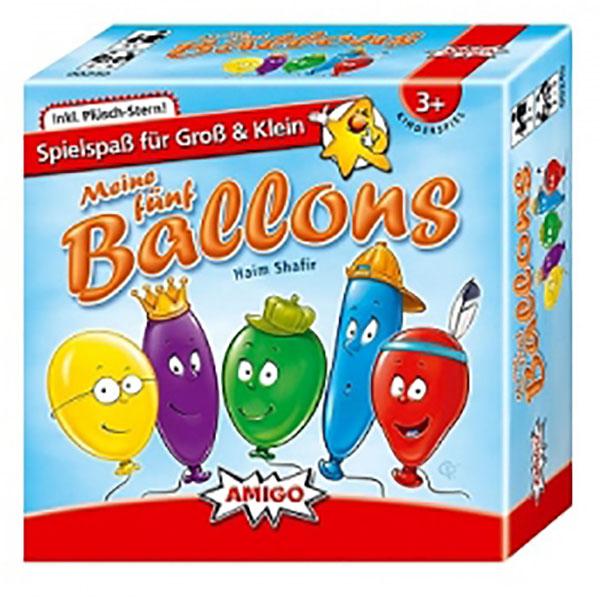 thumb بازی فکری بادکنکها (Ballons   Meine Fünf Ballons)